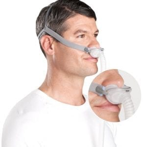 AirFitP10_nasal mask Rochester Oxygen and CPAP cpap supplies cpap masks nasal pillows rochester