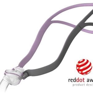 The AirFit™ P10 for Her nasal pillows mask resmed cpap masks rochester