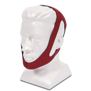 Chin strap for CPAP. Red Ruby. Rochester Oxygen and CPAP cpap masks and headgear