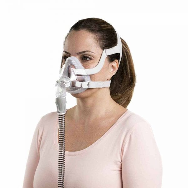 Resmed F20 Full face mask for her Rochester Oxygen and CPAP cpap supplies cpap store cpap masks