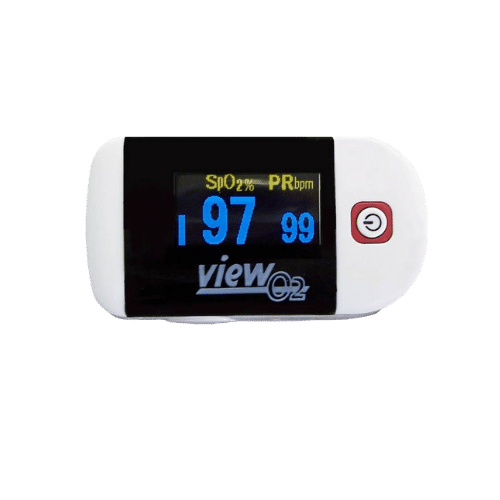 portable heart rate and blood saturation monitor